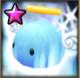 Blaues Angelmon Icon
