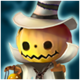 Jack-o'-lantern (Light) Icon