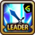 Leader Skill Attack Power (Mid) Guild Battles Icon