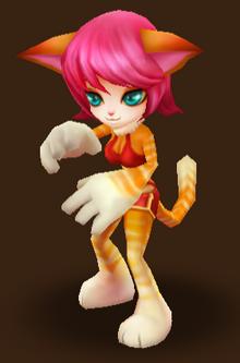 Martial Cat (Feuer)