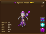 Epikion Priest (Dark) - Rasheed/Gallery and trivia
