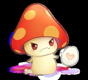Mushroom art by jessicafreaxx
