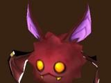 Bösartige Fledermaus (Feuer)