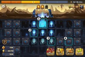 Tartarus' Labyrinth Layout Screen