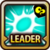 Leader Skill Critical Rate (Low) Wind Icon
