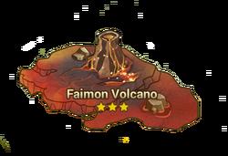 Faimon Volcano Map
