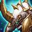Armed Yellow Horn Armor