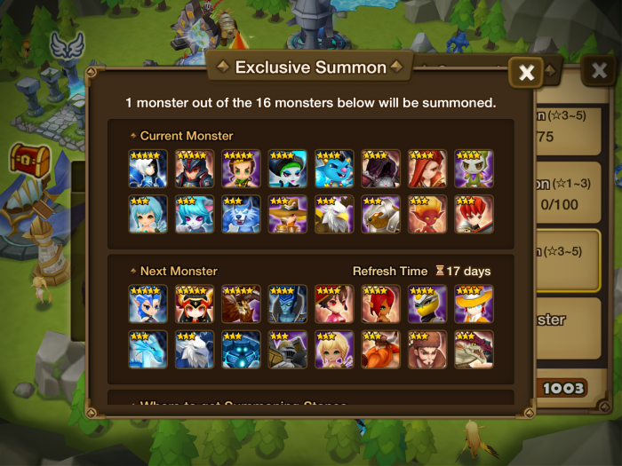summoners war buy monsters