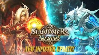Summoners War New Monster Update! Lightning Emperor & Giant Warrior