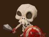 Skelettsoldat (Feuer)