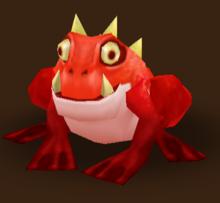 Gehörnter Frosch