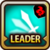 Leader Skill Attack Speed (Low) Fire Icon