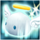 White Angelmon Icon