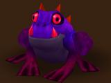 Gehörnter Frosch (Dunkelheit)