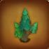 Grüner spitzer Baum
