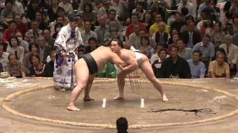 Asashoryu and HarumaFuji HQ