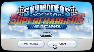 Skylanders SuperChargers Racing Wii First Look