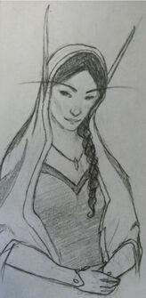 Ciaragan with longer hair