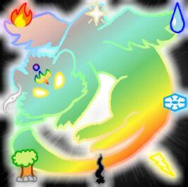 Element Village Emblem - Tiger of Elements