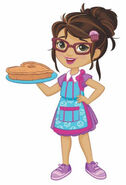 Nickelodeon Sunny Day Cindy the Baker Character Art