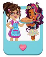 Nickelodeon Sunny Day Cindy and Rox Art
