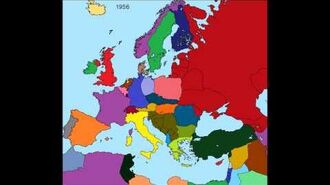 History of Europe 1900 through 2015