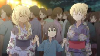 Sunohara Anime Episode 8 Akkun and Sunohara Sisters