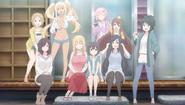 Sunohara Anime OP Evey cast