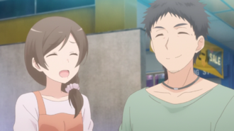Sunohara Anime Episode 9 Couple coustermer