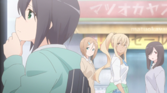 Sunohara Anime Episode 1 Aki and JK Gals 2