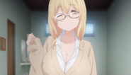 Sunohara Anime Episode 1 Aki as student
