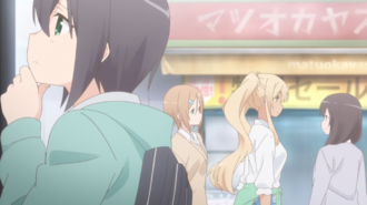 Sunohara Anime Episode 1 Aki and JK Gals