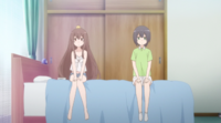 Sunohara Anime Episode 3 Yuzu Sitting