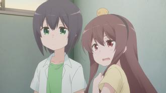 Sunohara Anime Episode 2 Aki Yuzu Spider Incident During