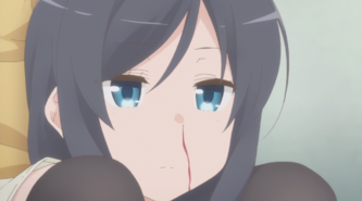 Sunohara Anime Episode 1 Sumire nosebleed