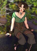 Elf of mourningwood