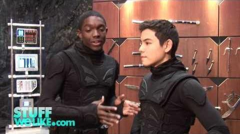 Supah Ninjas Carlos Knight and Ryan Potter