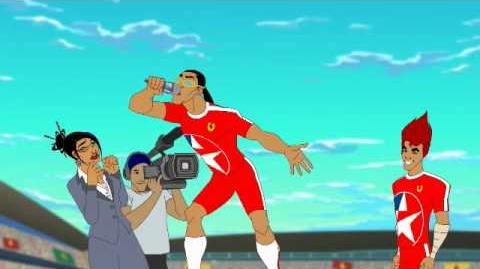 Supa Strikas - El Matador singing