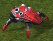 Cybran Кибран Т2 мобильная бомба Огненный жук