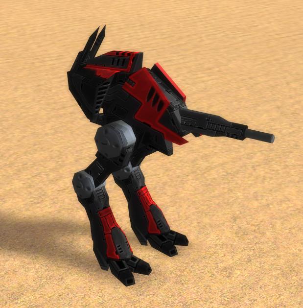 Кибран Cybran легкий штурмовой бот Hunter