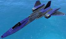 UEF SR90 Blackbird Spy Plane