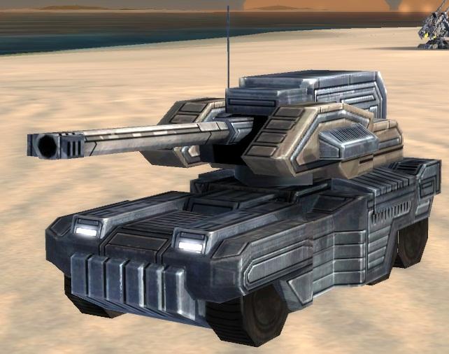 ОФЗ UEF T1 мобильная легкая артиллерия Lobo