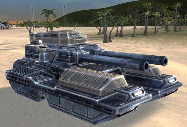 ОФЗ UEF Т2 тяжелый танк Pillar