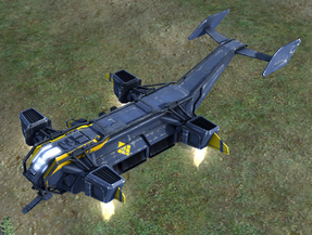 AC-1000 Terror Experimental Assault Plane