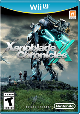 Xenoblade Chronicles X Game Cover