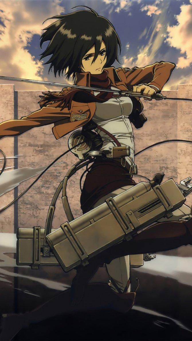 Anime Mikasa Ackerman Attack On Titan Anime Wallpapers