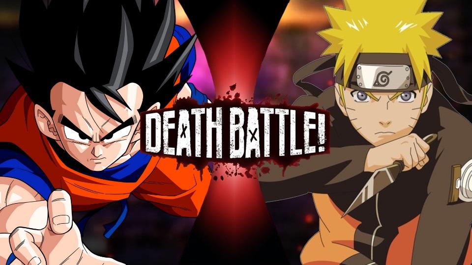Goku VS Naruto | Super Death Battle Fanon Wikia | Fandom