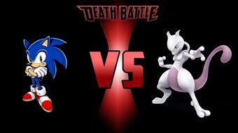 Sonic The Hedgehog Vs Mewtwo Super Death Battle Fanon Wikia Fandom