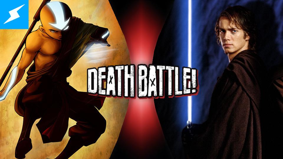 Aang Vs Anakin Skywalker Super Death Battle Fanon Wikia Fandom