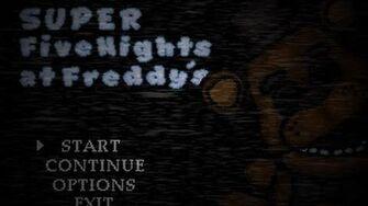 Super FNaF Teaser Trailer